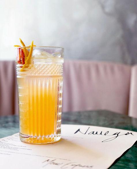 Navega Restaurant & Bar Cocktail Menu