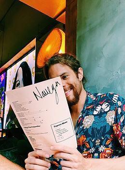 Navega Restaurant & Bar Menu