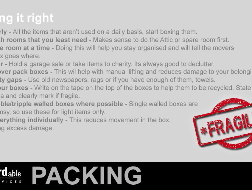 P6 packing