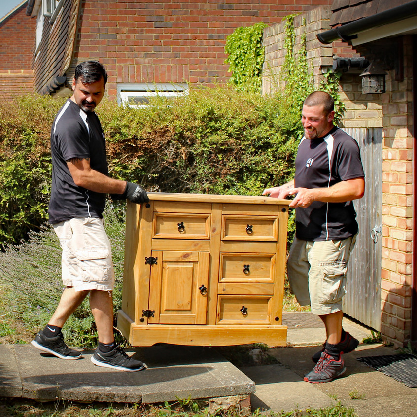 Phil and Aidi 2 Men Removals