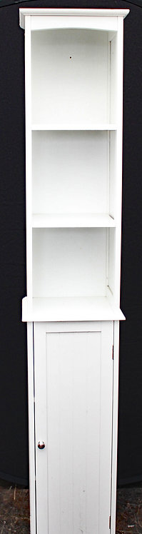 Tall white cabinet