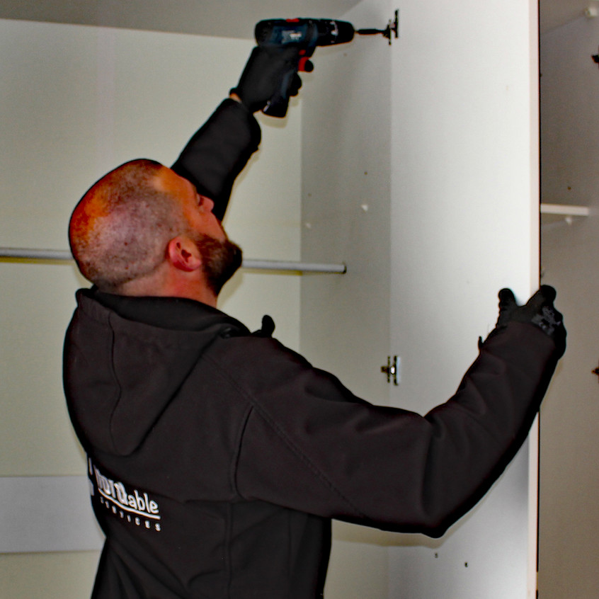 Adrian dismantling fitted wardrobes