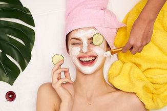 cosmetic procedures, mask for skin care,