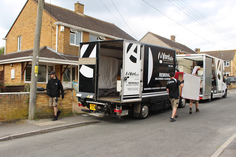 Afordable Services doing a House Clearance