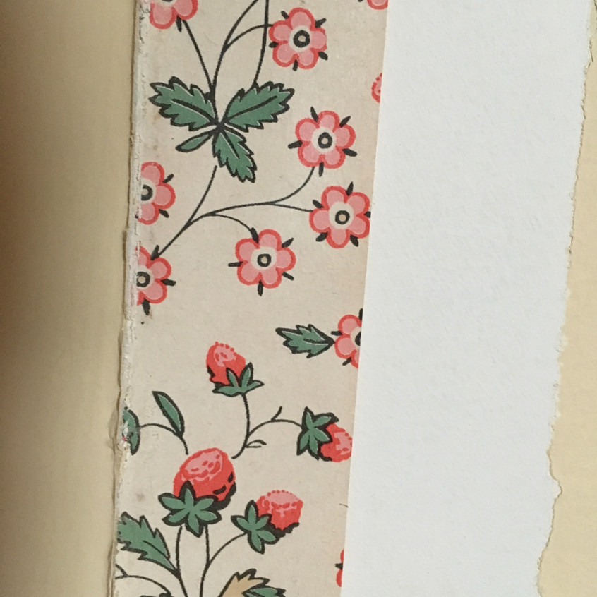 Uncovering wallpaper