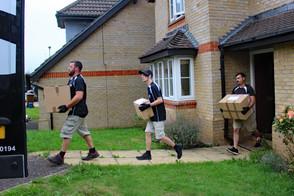 Moving a Family from Hemyock, Devon to Northampton