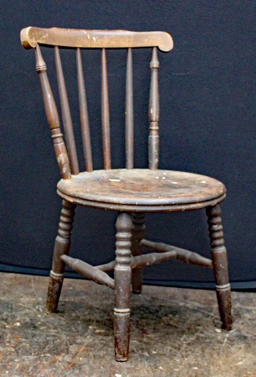 Retro Solid Wooden Chair