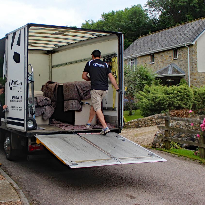 Man with a Van, tail lift, eBay buy