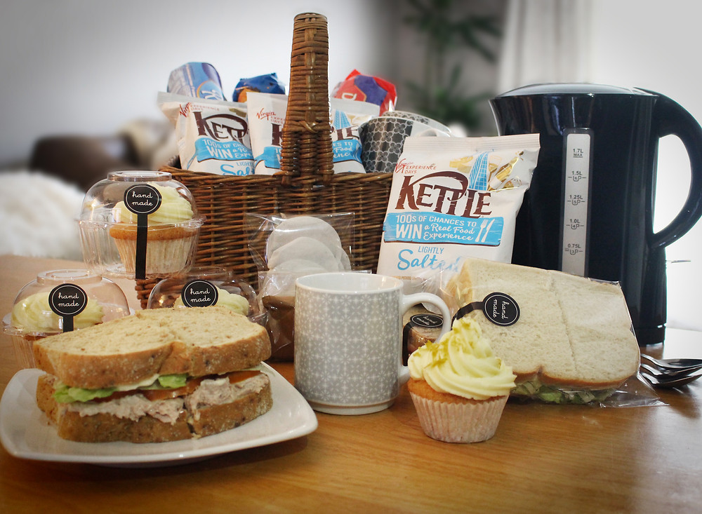 Removals Brew and Lunch Hamper - Afordable Services
