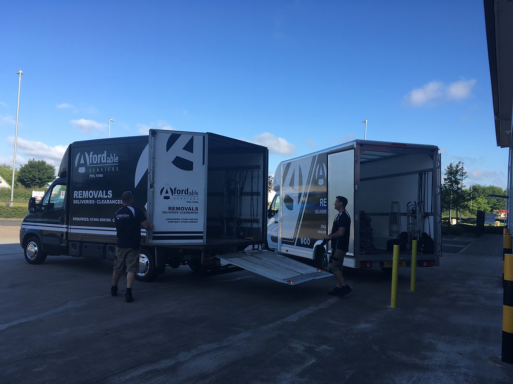 Afordable Services Removals - Storage