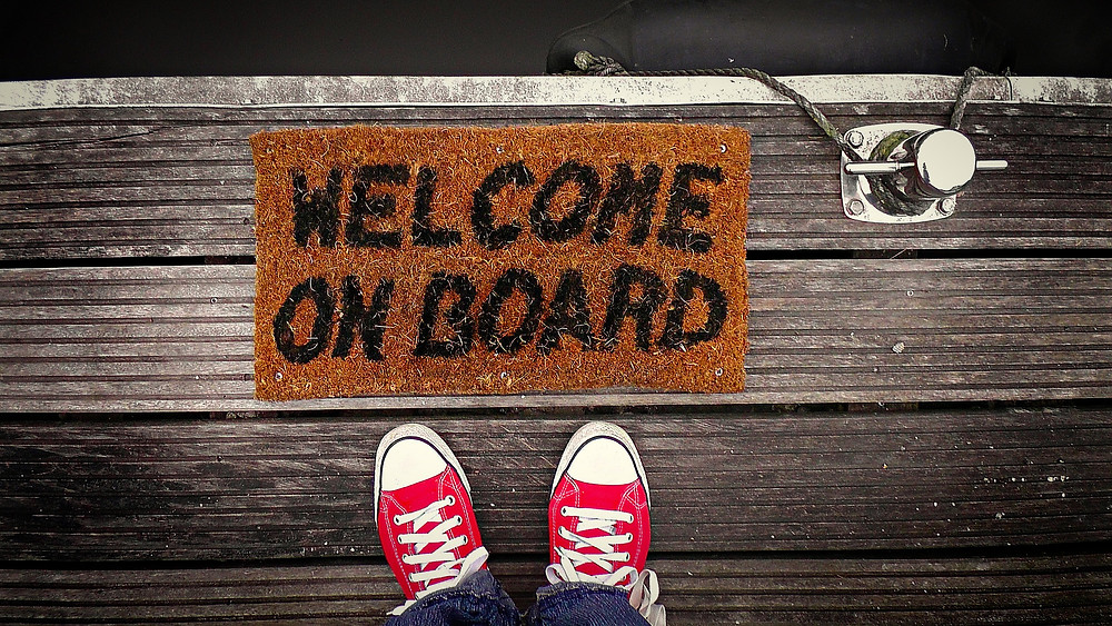 welcome on board mat gift ideas