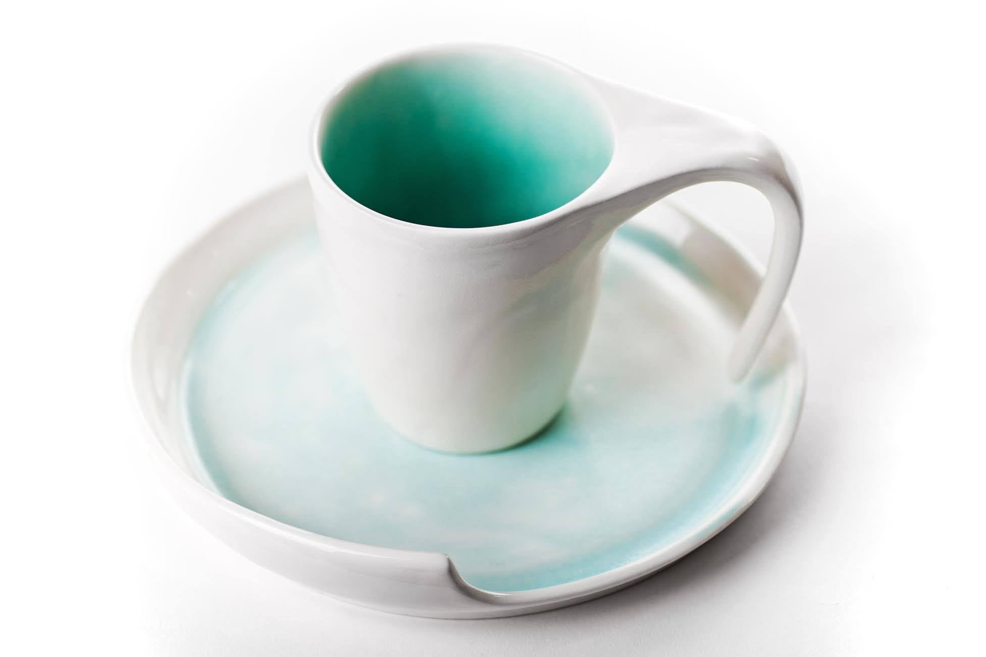 Cup and saucer by Thordis Baldurs