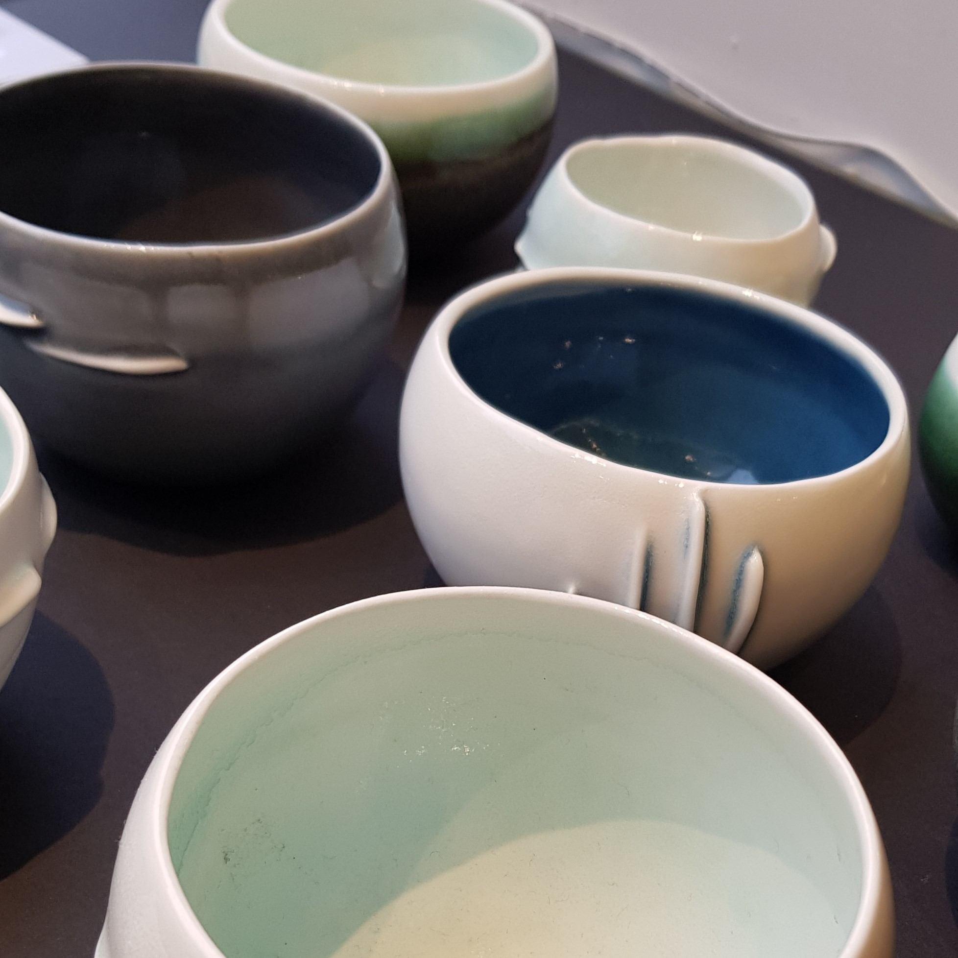 bowls made by Thordis Baldursdottir
