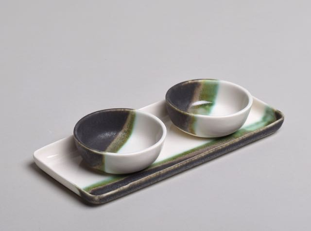 Disk and bowls by Thordis