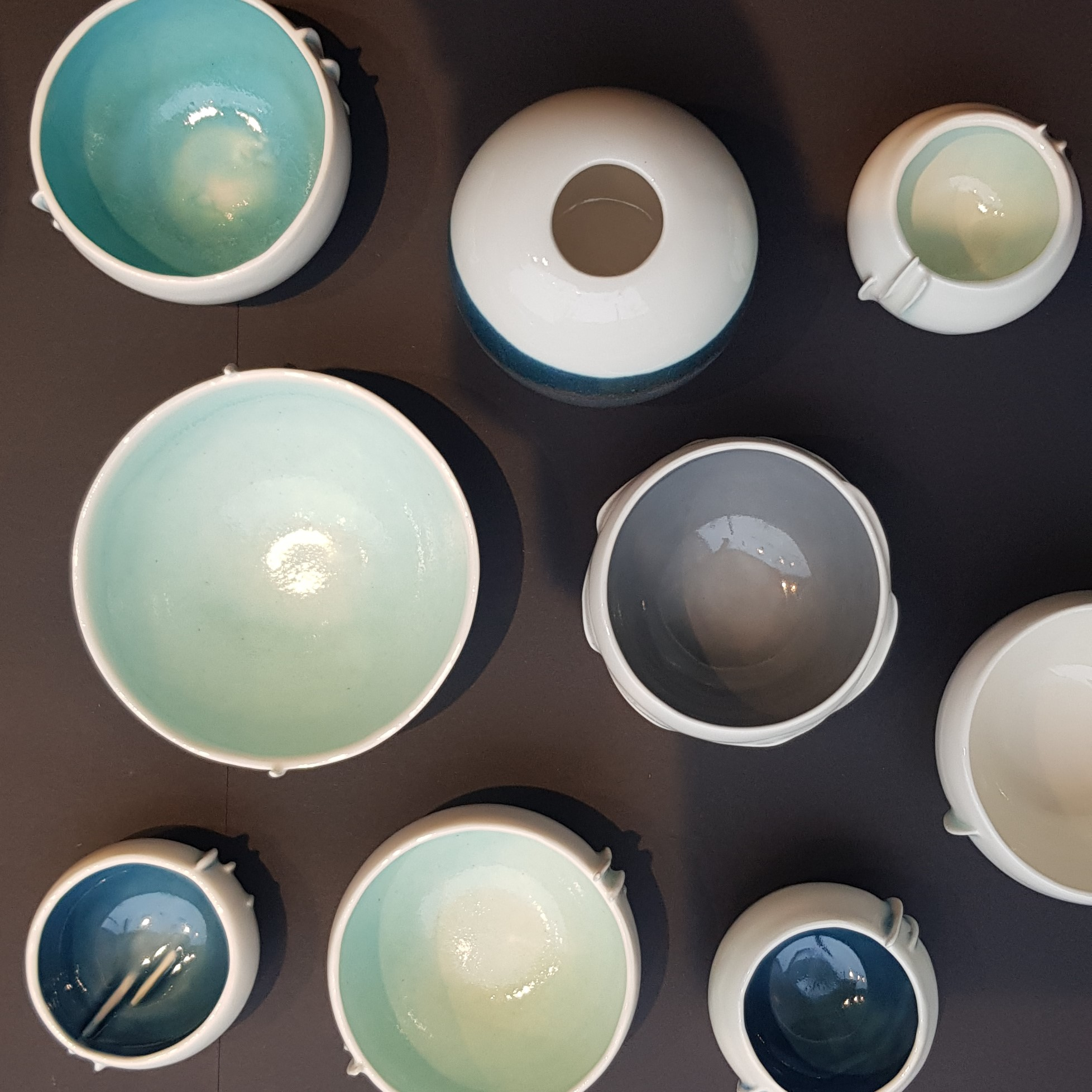 top view of bowls by thordis
