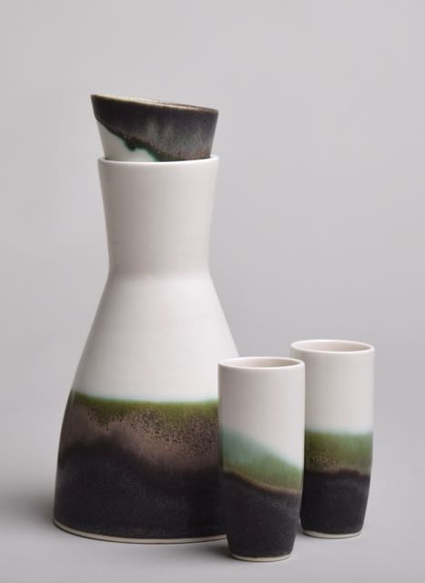 Carafe and glasses by Thordis