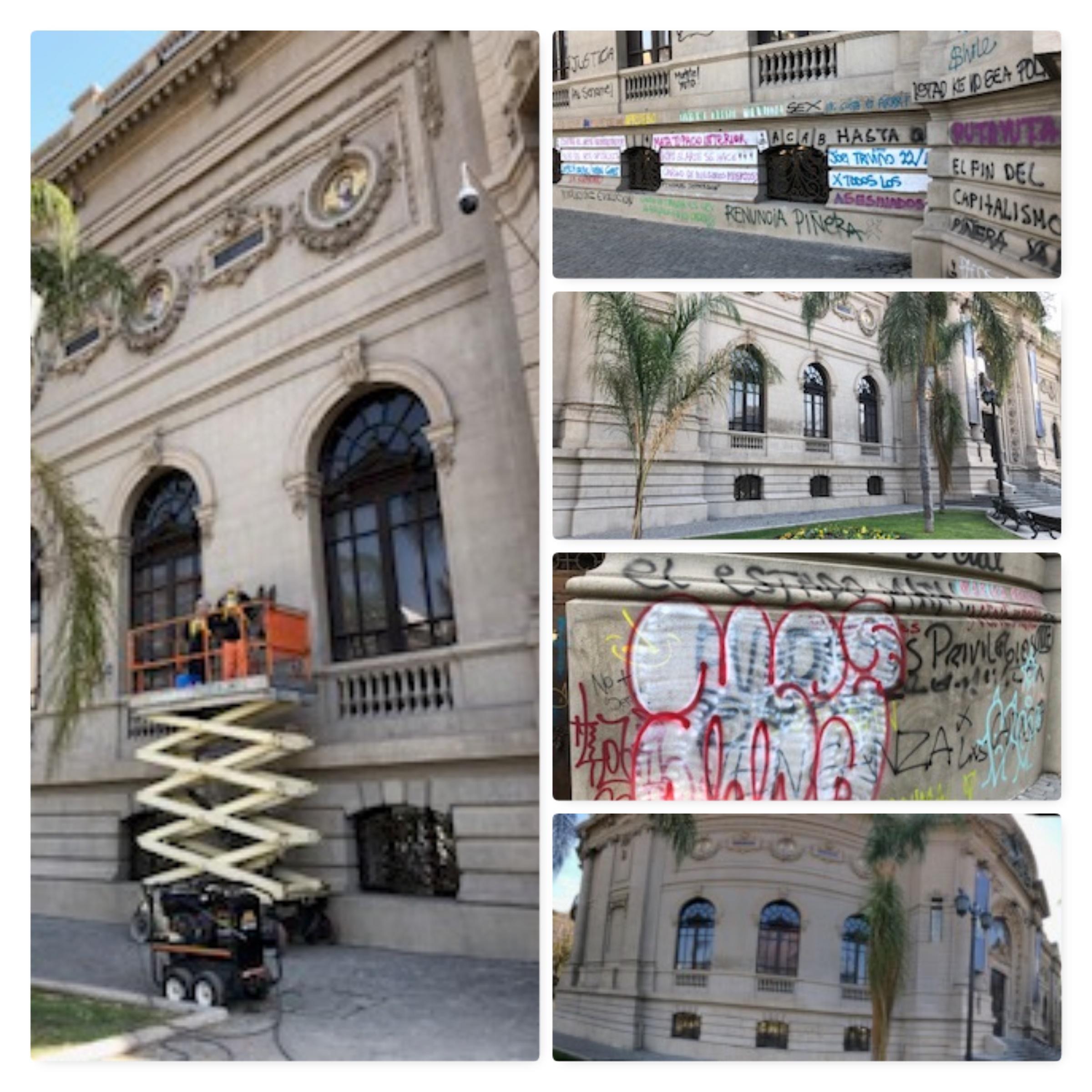 Limpieza Museo Nacional de Bellas Artes