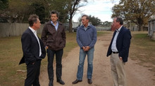 GREG HUNT VISITS THE JINGLEMONEY SOIL CARBON PROJECT