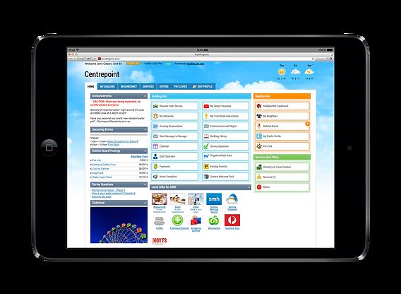 BuildingLink Asia iPad
