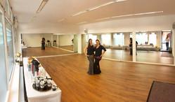 Kurz vor der Eröffnung der Tribal Dance Academy