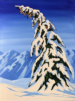 Snow Bound, Alpine View