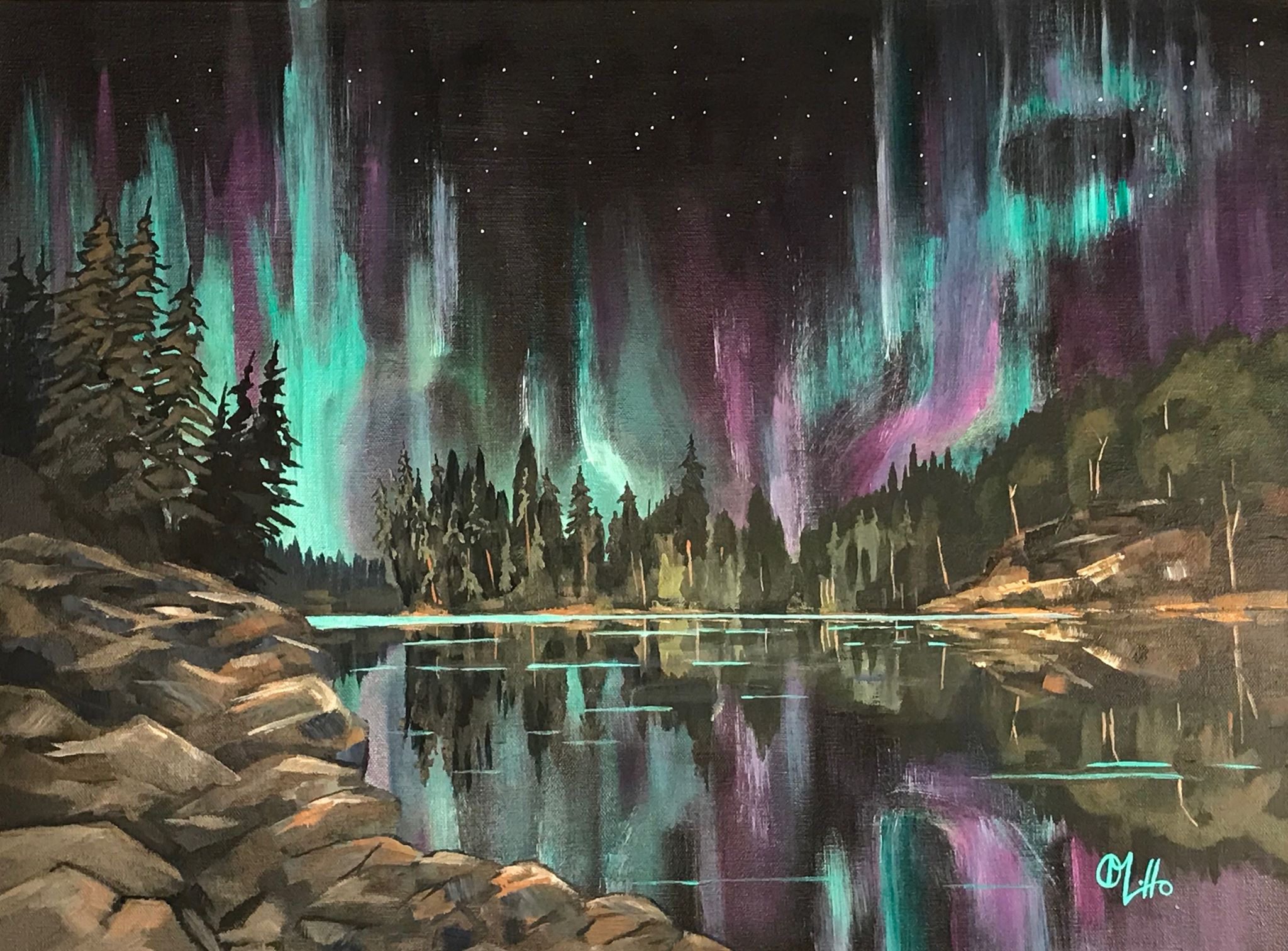 Northern Lights, Algonquin Park