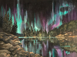 Northern Lights, Algonquin Park