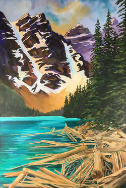 Mount Tonsa, Moraine Lake, Banff
