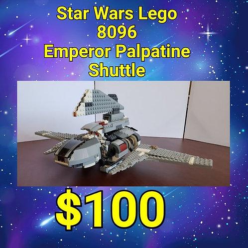 Vintage Star Wars LEGO 8096 Emporer Palpatine Shuttle