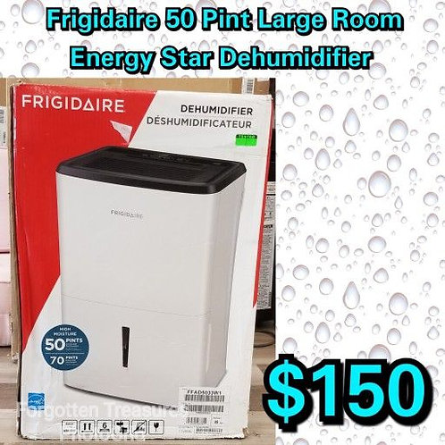 Frigidaire White 50 Pint Large Room Energy Star Dehumidifier