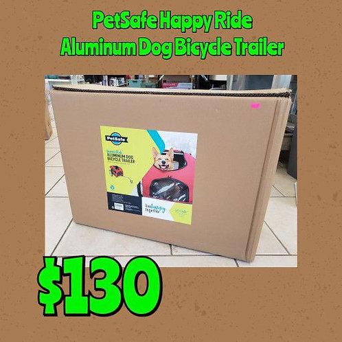 PetSafe Happy Ride Aluminum Dog Bicycle Trailer