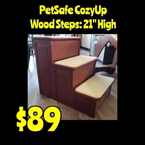 PetSafe 3 Step Wooden Pet Stairs
