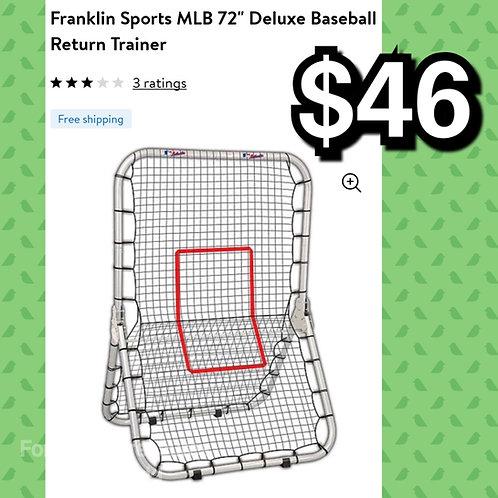 """Franklin Sports MLB 72"""" Deluxe Baseball Return Trainer"""