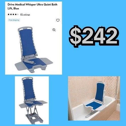 Drive Medical Whisper Ultra Quiet Bath Lift