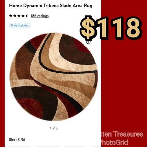 Home Dynamix Tribeca Slade 8' Round Area Rug