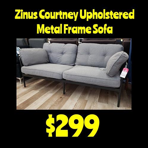 Zinus Courtney Upholstered Metal Frame Sofa
