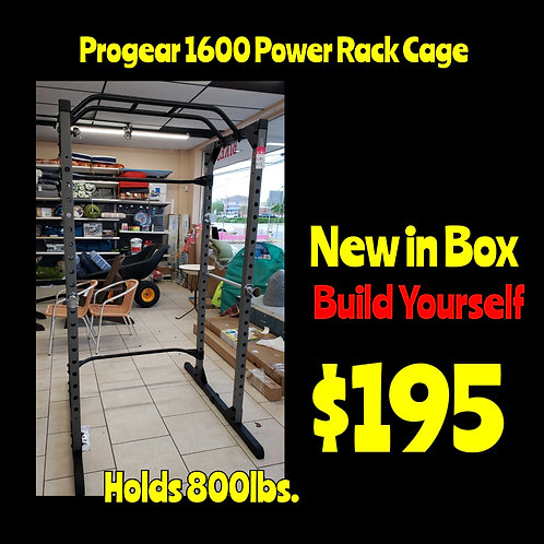 NEW In Box Pro Gear 1600 Weight Rack Power Cage