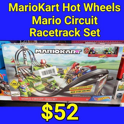 Mariokart Hot Wheels Mario Circuit Racetrack Set