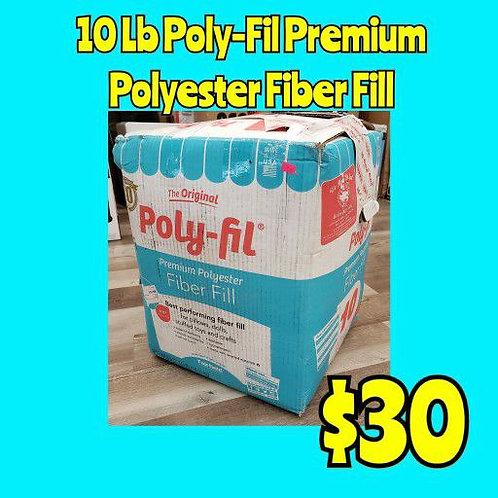 10lb Poly-Fil Polyester Craft Fiber Fill