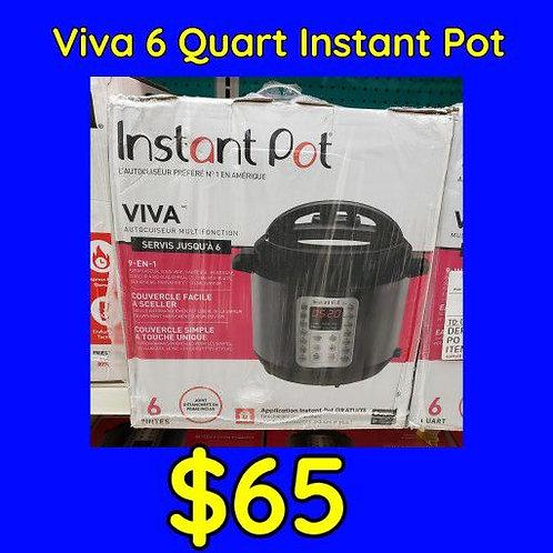 Viva 6 Qt Instant Pot Pressure Cooker