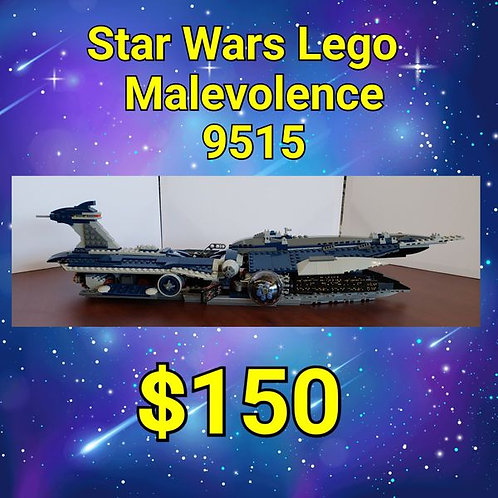 Vintage Star Wars LEGO 9515 Malevolence