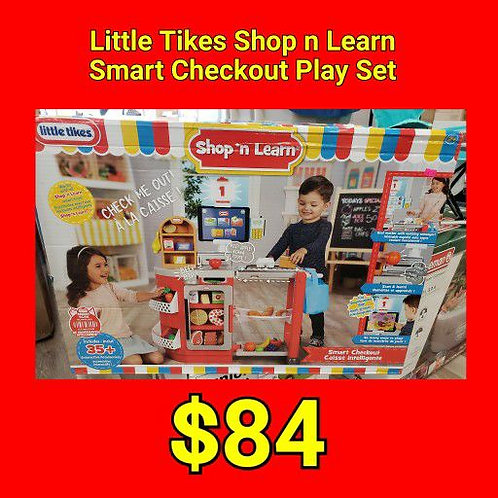 Little Tikes Shop n Learn Smart Checkout Play Set