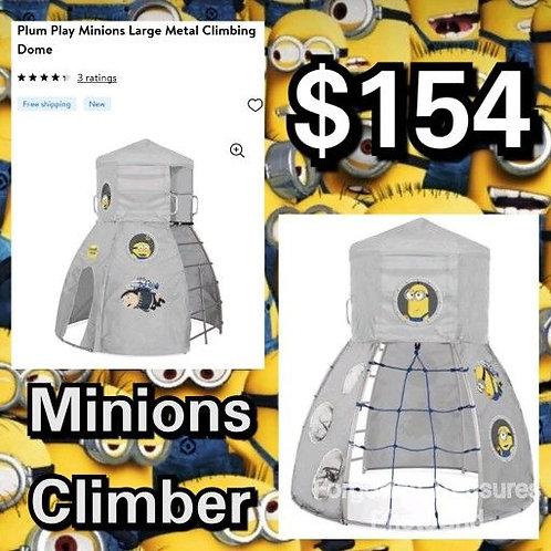 NEW In Box Plum Play Minions Large Metal Kids Climber