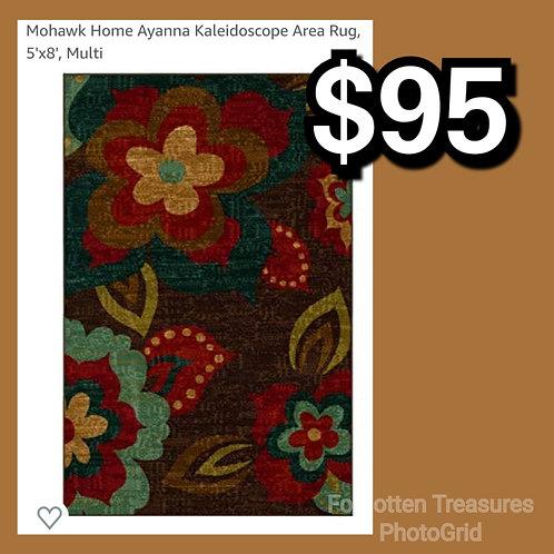 Mohawk Home Ayanna Kaleidoscope 5' x 8' Floral Rug