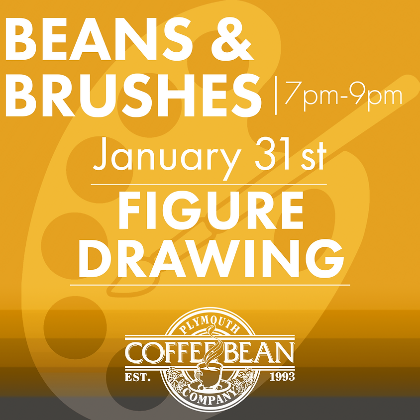 Beans & Brushes: Figure Drawing