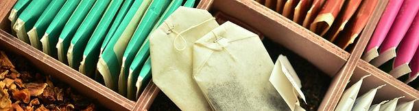Assorted tea bags