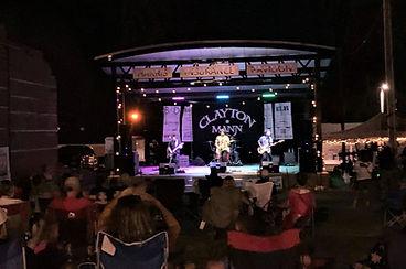CLAYTON MANN performs at Mount Carmel Fa