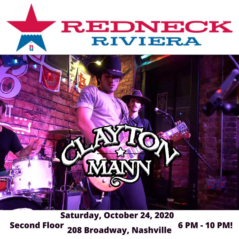 CLAYTON MANN at Redneck Riveria Nashville