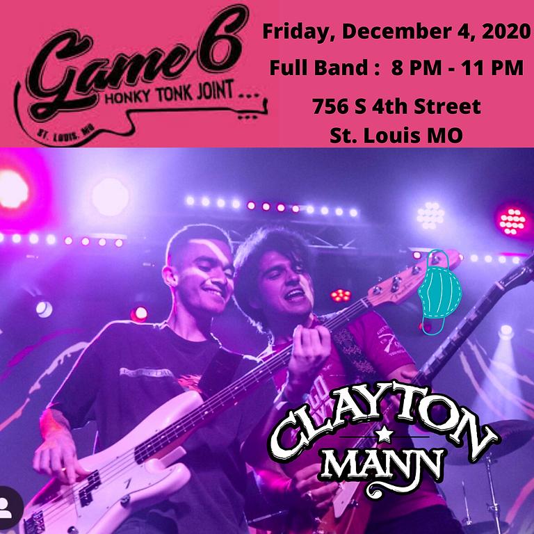 CLAYTON MANN at Game 6 Honky Tonk