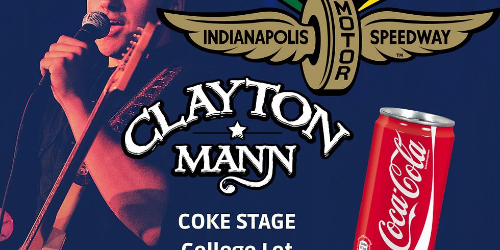 CLAYTON MANN at INDY 500! (1)